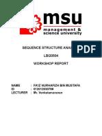 Workshop Report Template