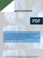 Cirugía endodóntica