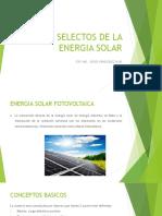 Temas Selectos de La Energia Solar