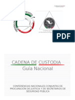 Gua Nacional Caden Adeus to Dia