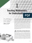 Teaching Mathematics for Understanding