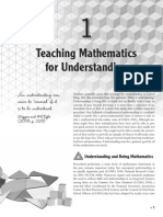 Teaching Mathematics for Understanding