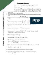 Class 12 Test 2 Maths