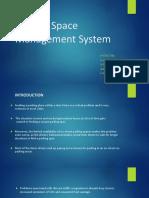 Parking Space Management System