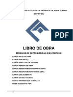 Libro de Obra Revista Ideas