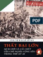 Thất Bại Lớn - Zbigniew Brzezinski