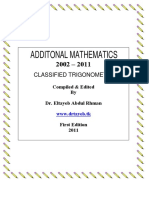 IGCSE trigonometryclassified