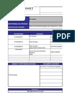 Copia de 1. Caracterización de Procesos de Pre- Minado