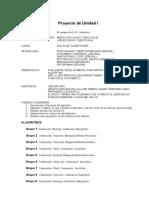 Temas de Proyecto de Unidad I 2017-4