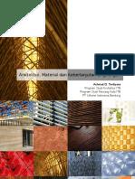 Ars Material Dan Keberlanjutan