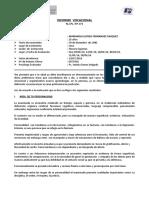 Nº 171 - 2016 - Tupa Marianela Fernandez. Psi. Yamily Gomez