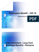 IAS-19 Employee Benefits