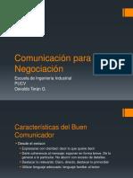 Comunicacion Para La Negociacion