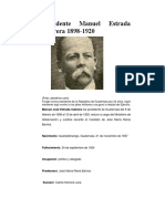 presidente manuel estrada cabrera 1898