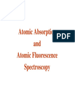 Atomic Absorption _ Atomic Flourescence Spectroscopy