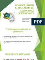Problemas Miscelaneos Ecuaciones Diferenciales