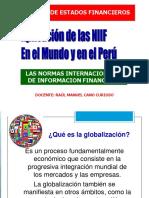 Las Niif en El Mundo