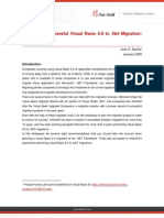 Planning a Successful VB6 to NET Migration 8 Proven Tips