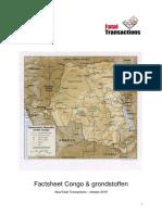 Factsheet Congo 2010