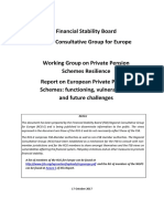 Report on European Private Pension Schemes