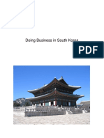 Doing Business in South Korea
