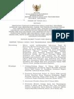 SKKNI Kepmenakertrans 2013-387 Quality Assurance Engineer