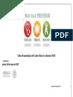 Tablas Bromatológicas del Cuadro Básico de Alimentos IMSS