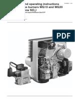 Manual WG10, 20 458-GB-10-99