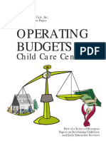 OperatingBudgets-Child Care Inc Publication