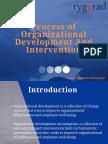 Process of Organization Development and Intervention