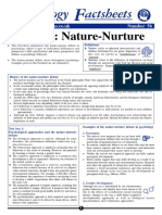 Nature Nurture Debate