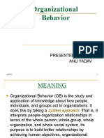 Organizatonal Behaviour PPT
