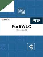Fortiwlc Sd v8.3.3 Release Notes
