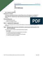 Praktikum Modul 7 IPv4 Dan IPv6
