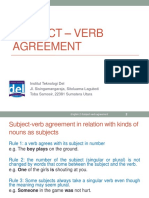 Week 03-English 2-Subject – Verb Agreement