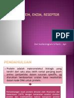 ppt Protein, Enzim, Reseptor