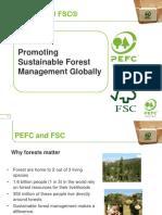 PEFC and FSC Presentation