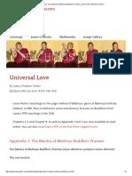 the Mantra of Maitreya Buddha's Promise