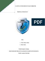 Proposal Konfigurasi Mikrotik Hotspot