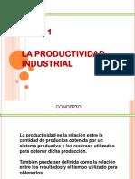 Tema 1 Productividad Industrial