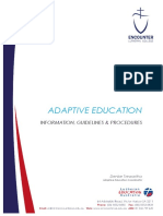 adaptive 20ed 20information 20guidelines 20and 20procedures