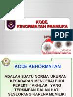 Kode Kehormatan Pramuka