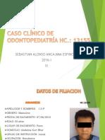 Esquema de CASO CLÍNICO 1 Pediatria