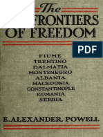 E.alexander Powel.the New Frontiers of Freedom