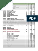 Planilla de Metrados Viv - Unifamiliar 13-081
