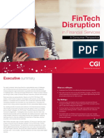 Fintech Disruption in Financial Services