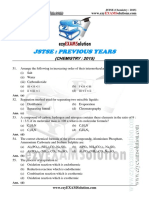 JSTSE Chemistry 2015 Ezyexamsolution.com