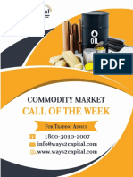 Commodity Research Report 23 October 2017 Ways2Capital