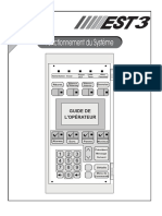 French EST-3 Operating Manual (Version SDU 31 2)