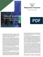 Kerr, Philip - Das Witt Gen Stein Programm